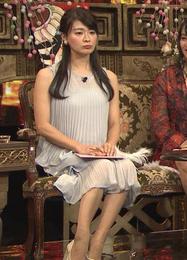 八田亜矢子 おっぱいパツパツや太もも等キャプ・エロ画像8