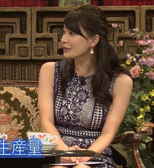 八田亜矢子 おっぱいパツパツや太もも等キャプ画像(エロ・アイコラ画像)