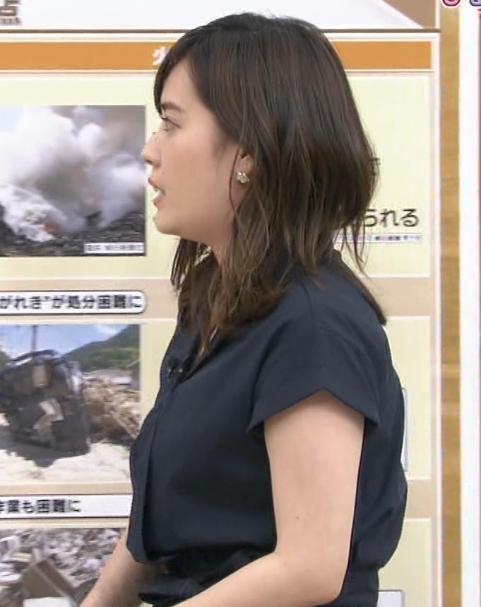 林みなほアナ 胸元が見えそうキャプ・エロ画像2