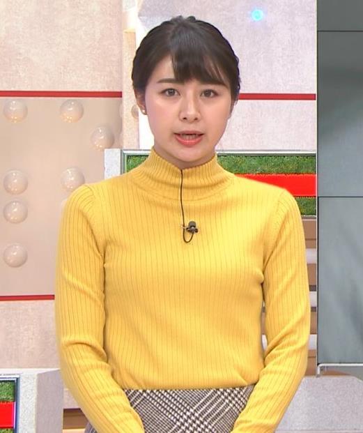 林美沙希アナ ニット微乳キャプ・エロ画像