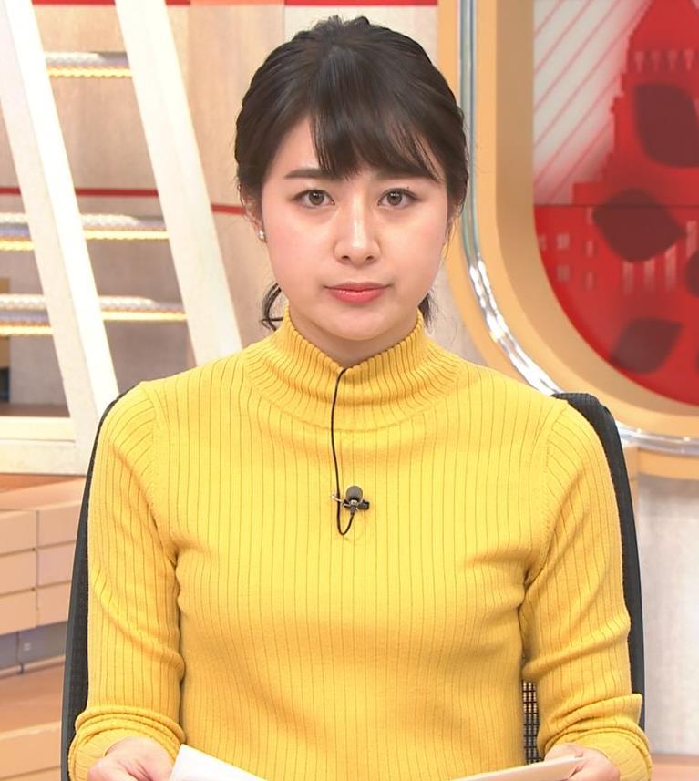 林美沙希アナ ニット微乳キャプ・エロ画像4