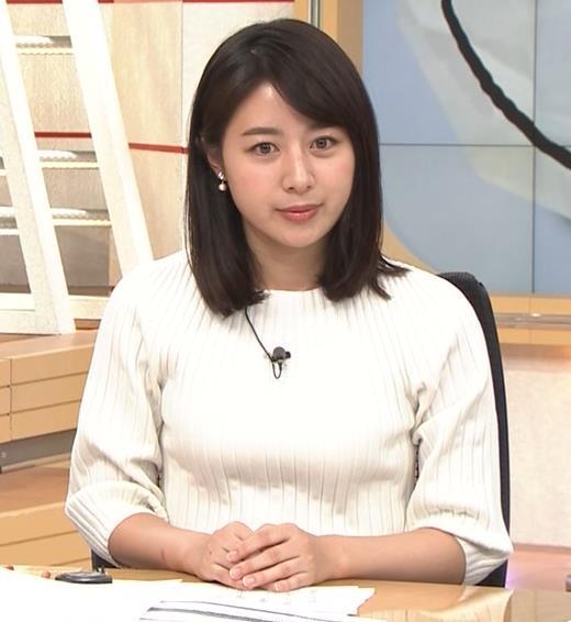 林美沙希アナ ニットおっぱいキャプ・エロ画像4