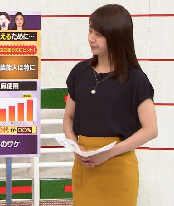 林美沙希アナ お尻のラインがいい!キャプ・エロ画像2