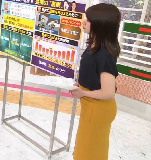 林美沙希アナ お尻のラインがいい!キャプ・エロ画像3
