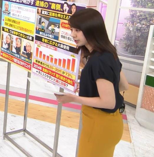 林美沙希アナ お尻のラインがいい!キャプ・エロ画像4