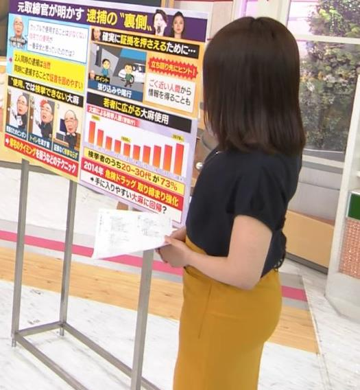 林美沙希アナ お尻のラインがいい!キャプ・エロ画像5