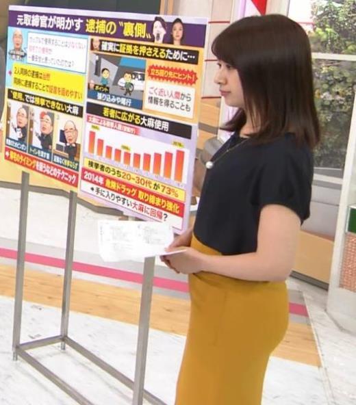 林美沙希アナ お尻のラインがいい!キャプ画像(エロ・アイコラ画像)