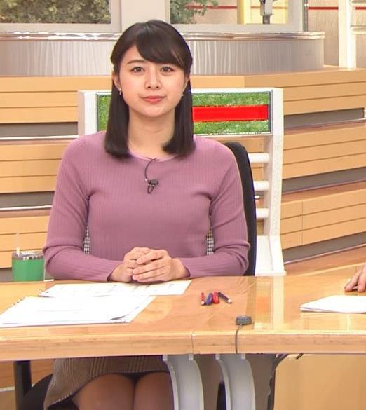 林美沙希アナ パンツ見えそうなミニスカ▼ゾーンキャプ・エロ画像6