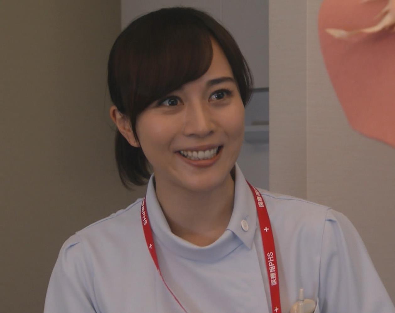 比嘉愛未 看護師役(ナース服) 「DOCTORS 最強の名医」キャプ・エロ画像16