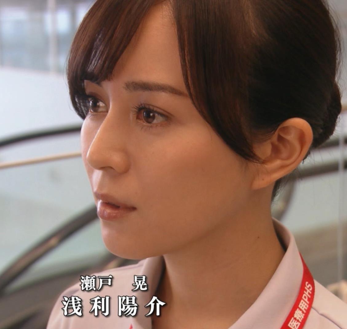 比嘉愛未 看護師役(ナース服) 「DOCTORS 最強の名医」キャプ・エロ画像18