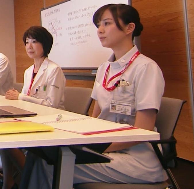 比嘉愛未 看護師役(ナース服) 「DOCTORS 最強の名医」キャプ・エロ画像5