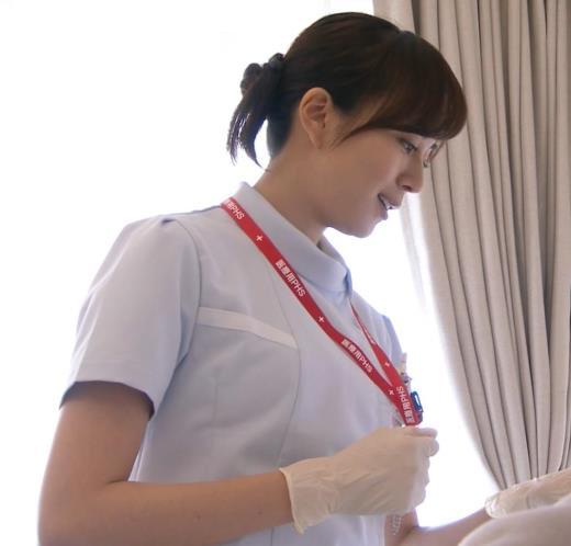 比嘉愛未 看護師役(ナース服) 「DOCTORS 最強の名医」キャプ画像(エロ・アイコラ画像)