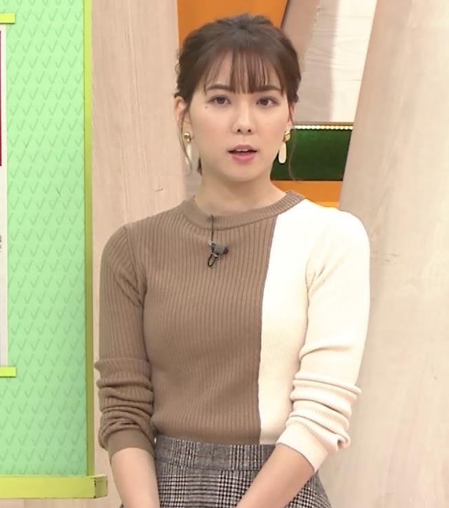ヒロド歩美アナ ちっぱい横乳キャプ・エロ画像2