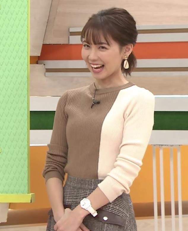 ヒロド歩美アナ ちっぱい横乳キャプ・エロ画像5