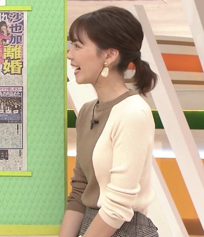 ヒロド歩美アナ ちっぱい横乳キャプ・エロ画像7