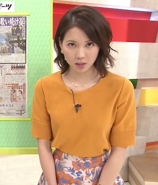 ヒロド歩美アナ 「サンデーLIVE!!」 よりキャプ・エロ画像4