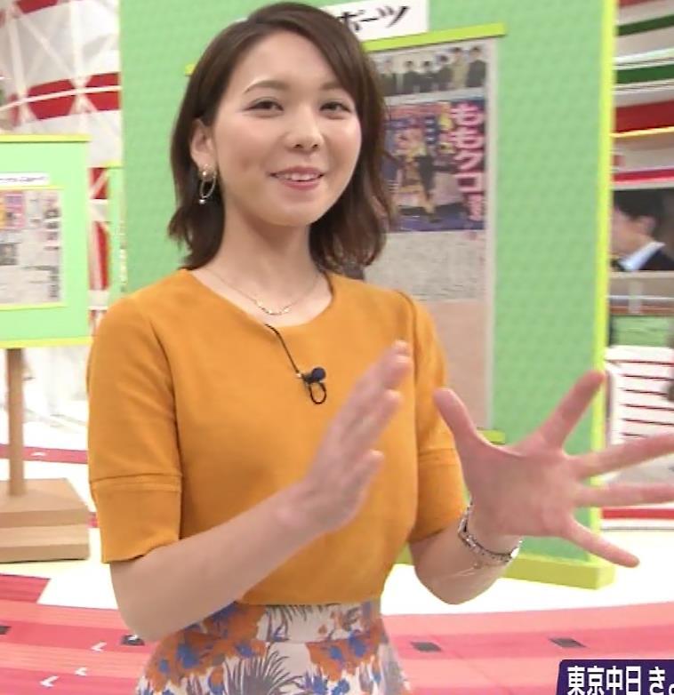 ヒロド歩美アナ 「サンデーLIVE!!」 よりキャプ・エロ画像5