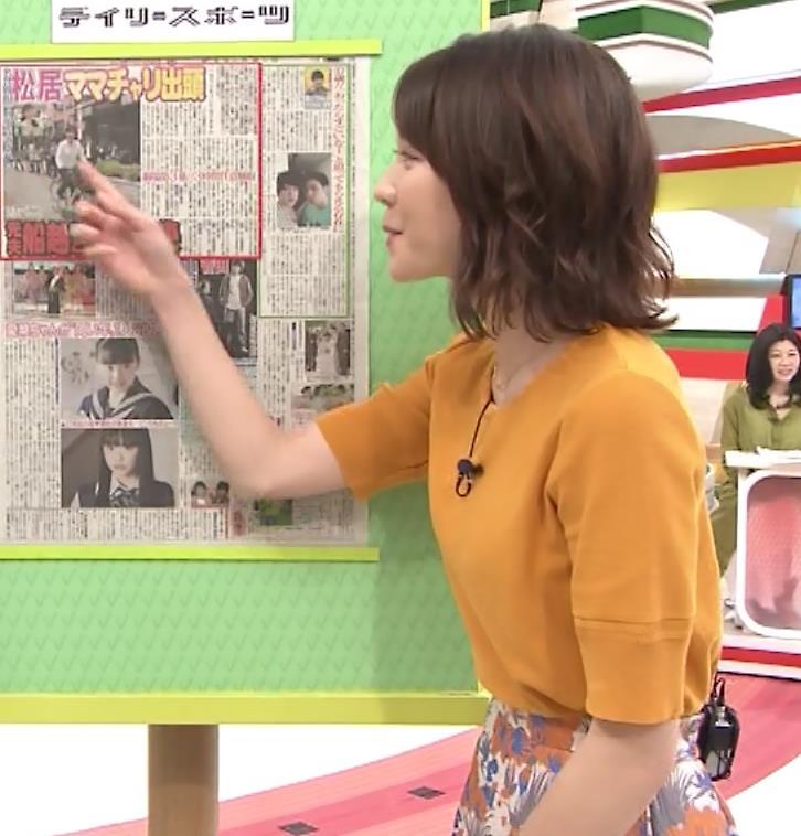 ヒロド歩美アナ 「サンデーLIVE!!」 よりキャプ・エロ画像8