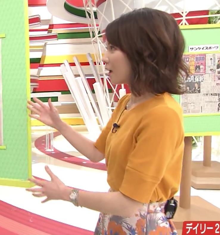 ヒロド歩美アナ 「サンデーLIVE!!」 よりキャプ・エロ画像9