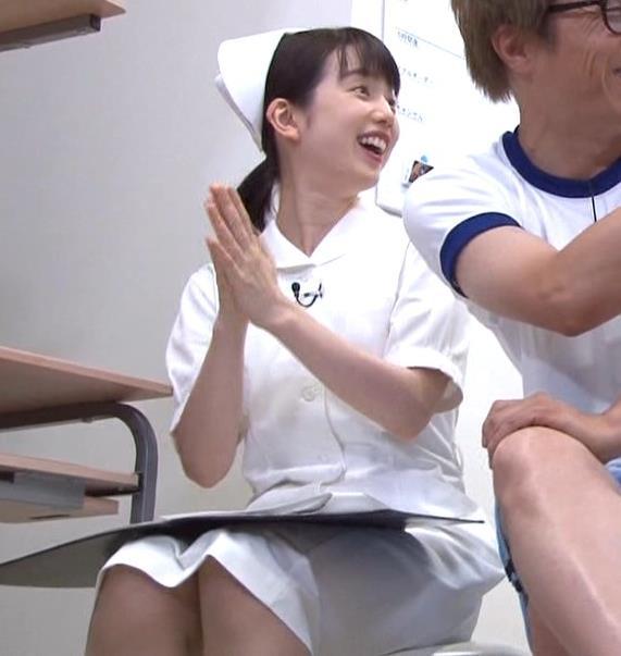 弘中綾香アナ まったくエロくないナースコスプレキャプ・エロ画像9