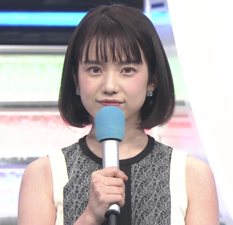 弘中綾香アナ ノースリーブの白い肌キャプ・エロ画像2