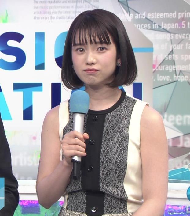 弘中綾香アナ ノースリーブの白い肌キャプ・エロ画像5