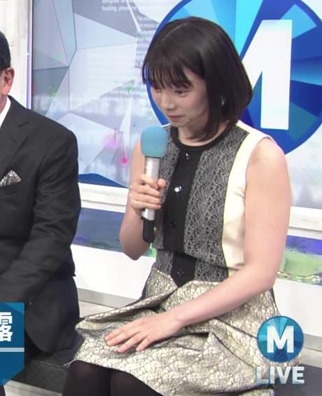 弘中綾香アナ ノースリーブの白い肌キャプ・エロ画像8