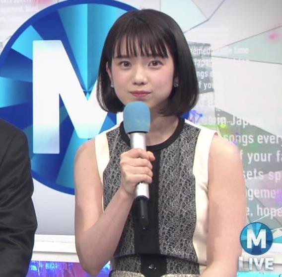 弘中綾香アナ ノースリーブの白い肌キャプ・エロ画像9