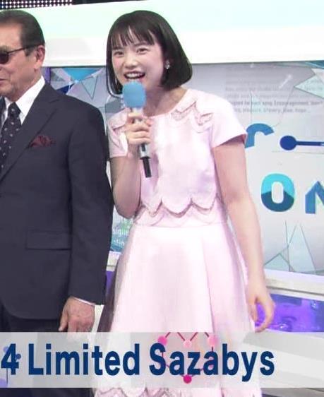 弘中綾香アナ ロリ系女子アナのかわいいワンピースキャプ・エロ画像9