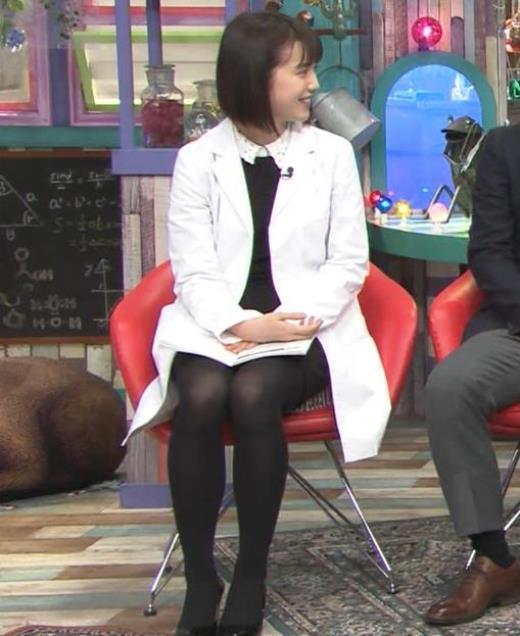 弘中綾香 ミニスカ黒ストッキングがエロいキャプ画像(エロ・アイコラ画像)