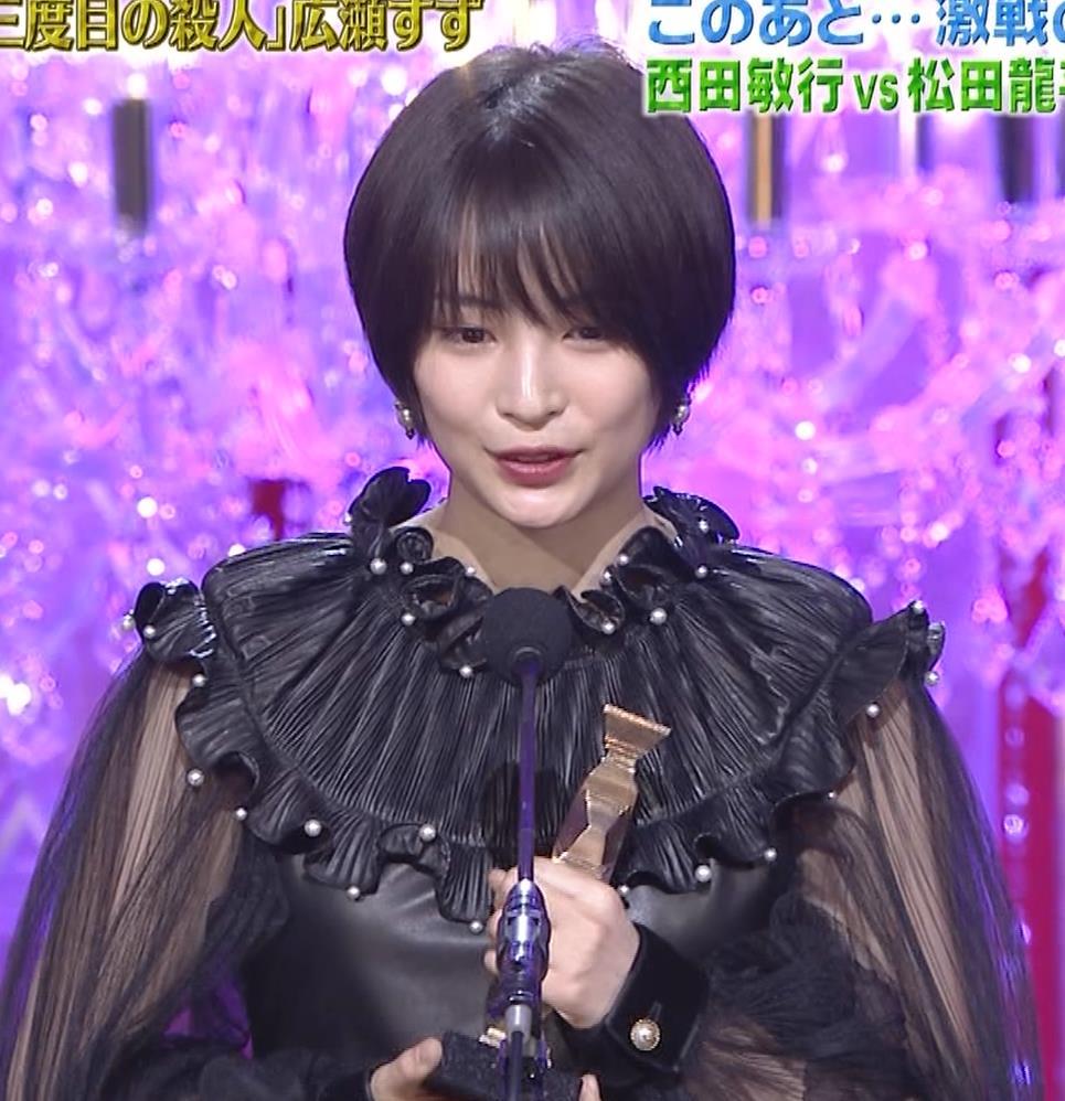 広瀬すず 大人の色気も出てきた日本アカデミー賞授賞式キャプ・エロ画像11