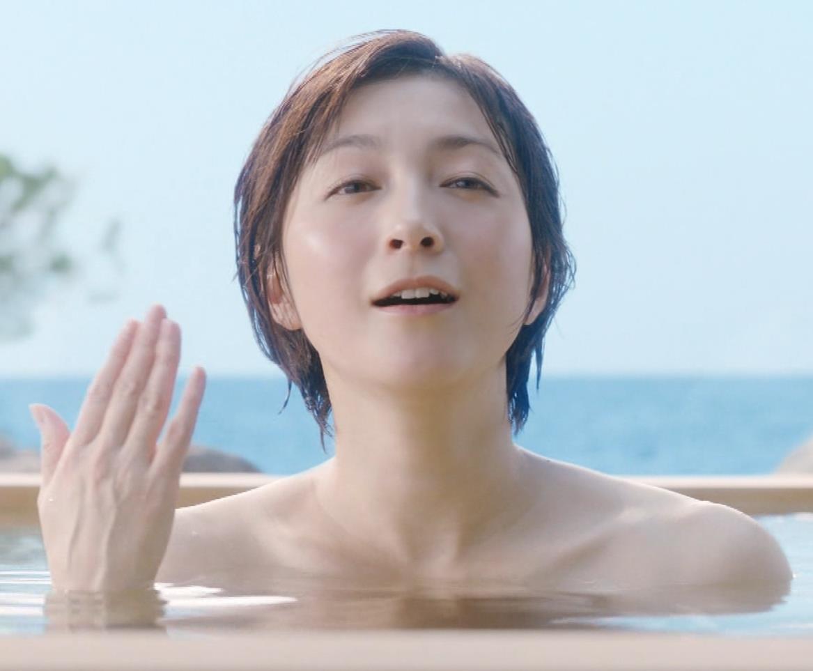 広末涼子 入浴CMをキャプキャプ・エロ画像
