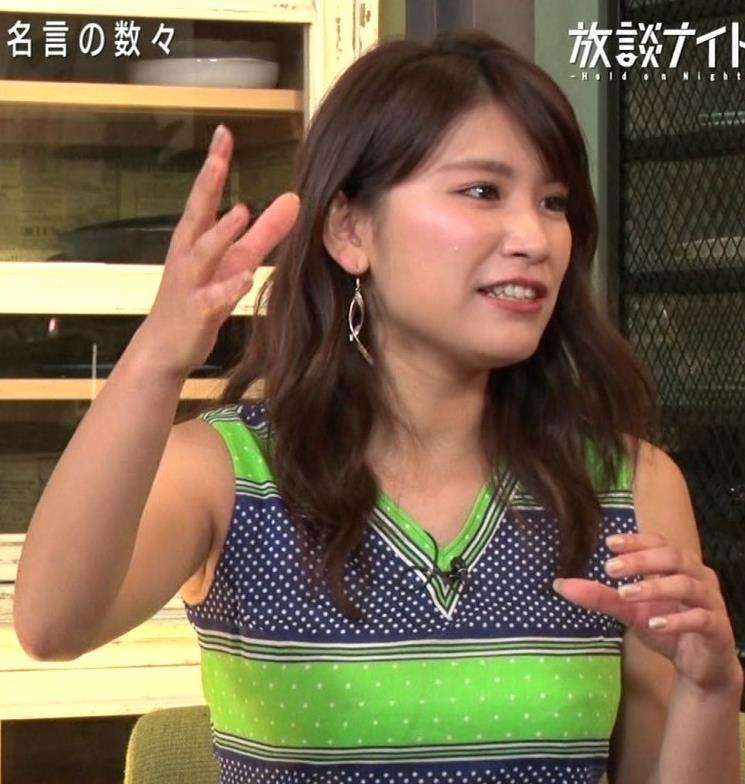 久松郁実 水着よりエロい突き出た着衣おっぱいキャプ・エロ画像5