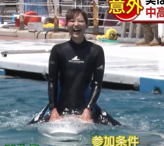 アナ ある意味水着!エロいウエットスーツ姿キャプ・エロ画像24