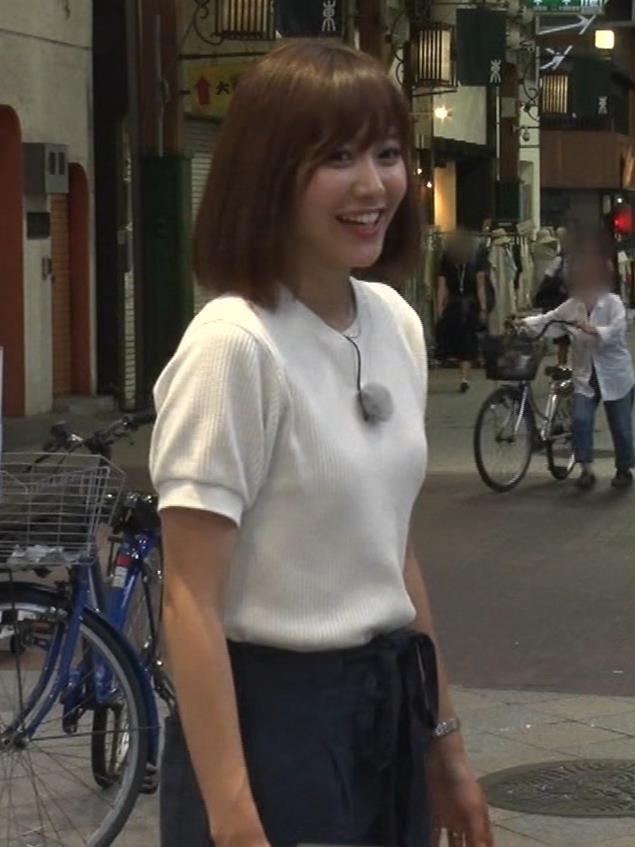 久冨慶子アナ ふんわりニット乳キャプ・エロ画像4