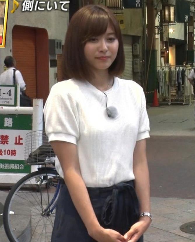 久冨慶子アナ ふんわりニット乳キャプ・エロ画像6
