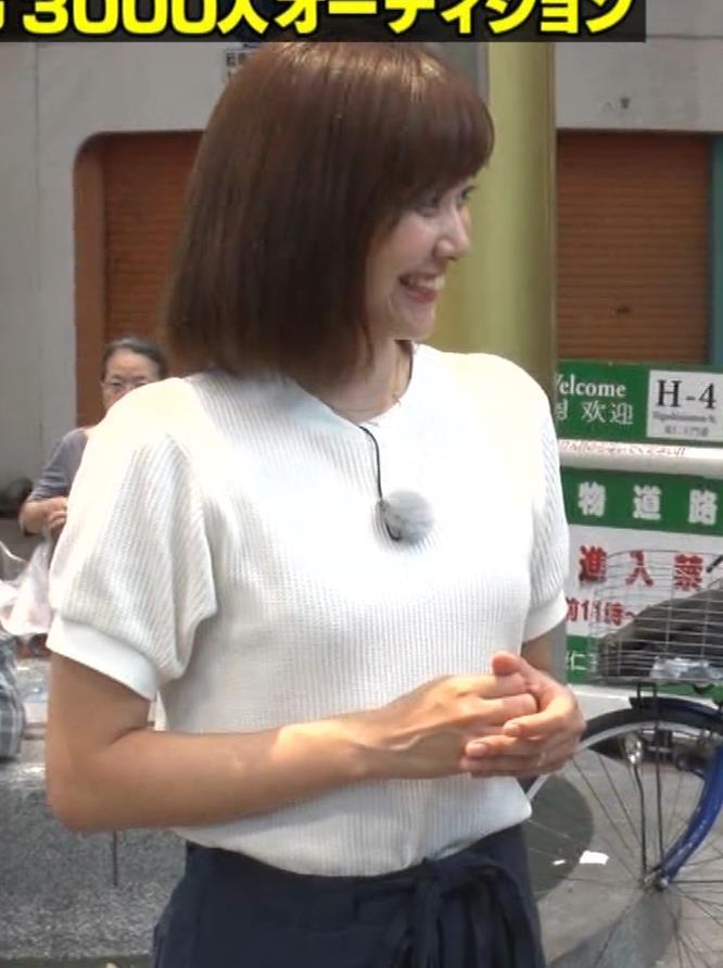 久冨慶子アナ ふんわりニット乳キャプ・エロ画像10