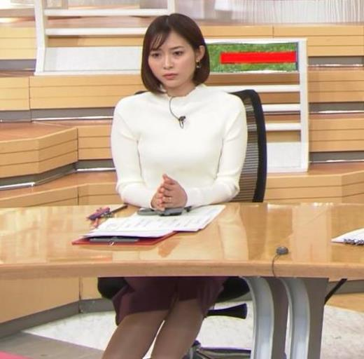 久冨慶子アナ 机の下の脚!キャプ画像(エロ・アイコラ画像)