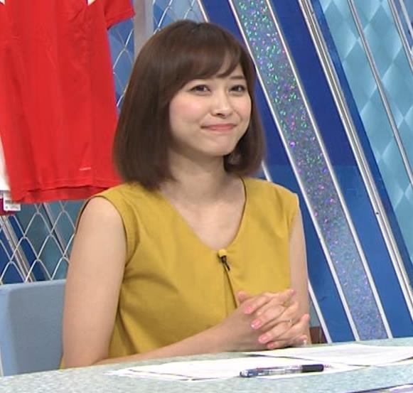 久冨慶子アナ ふっくら二の腕キャプ・エロ画像4