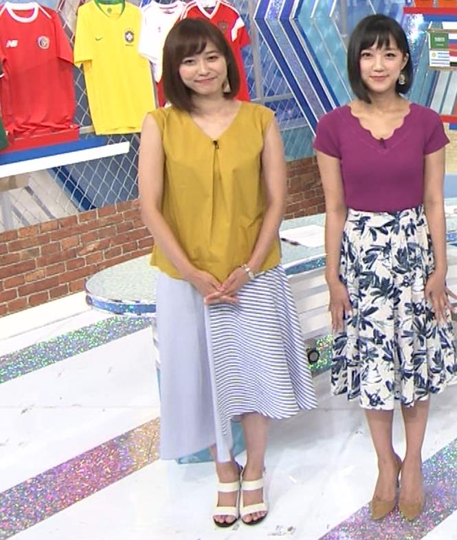 久冨慶子アナ ふっくら二の腕キャプ・エロ画像5