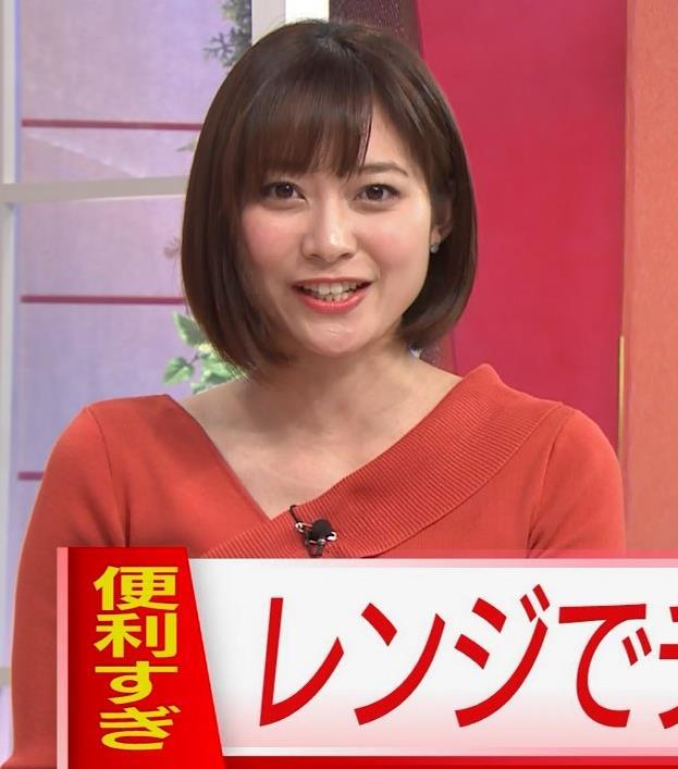 久冨慶子アナ ちょっと胸がエロい服キャプ・エロ画像3