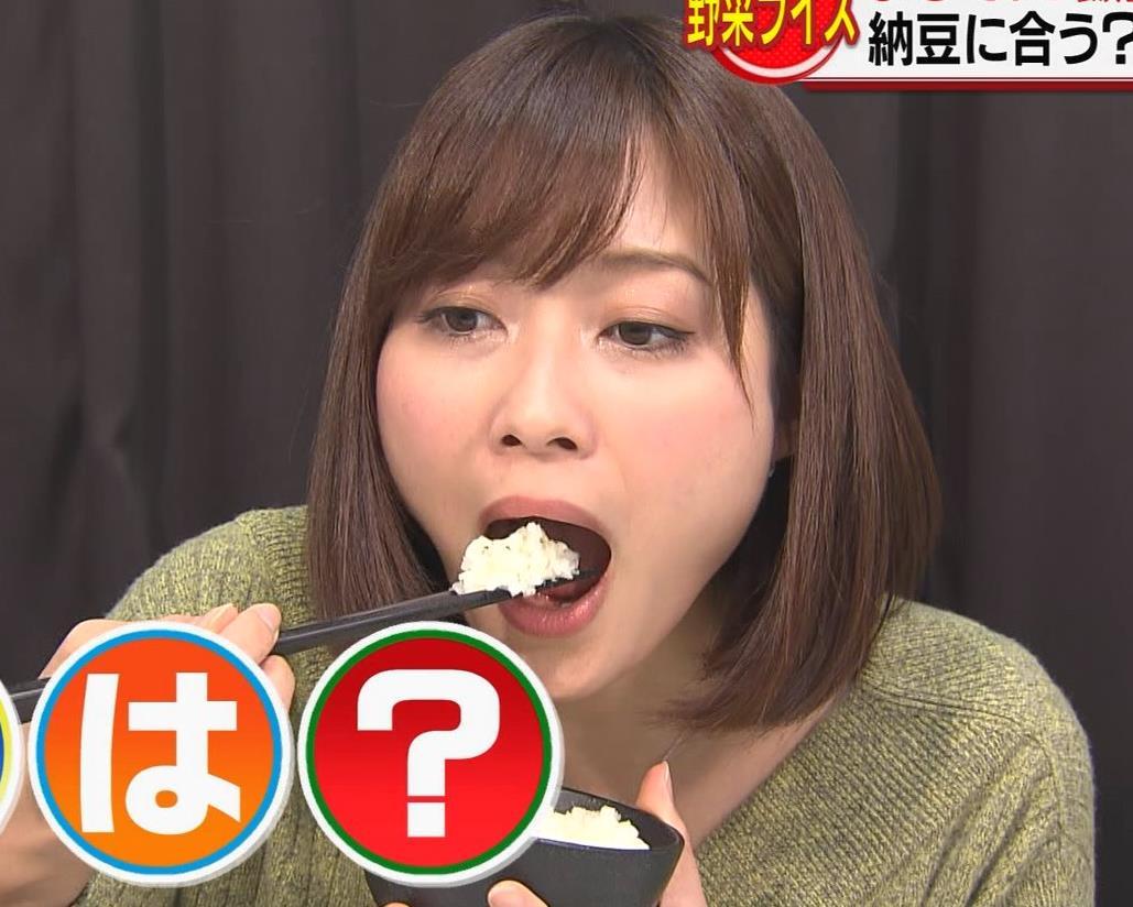 久冨慶子アナ 胸元ちょっと露出キャプ・エロ画像2