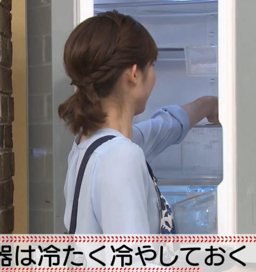 久冨慶子アナ 疑似フェラ画像キャプ・エロ画像4