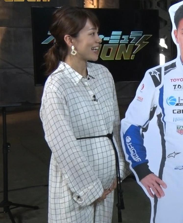 本田朋子アナ 妊娠ボテ腹キャプ・エロ画像4