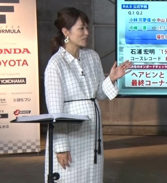 本田朋子アナ 妊娠ボテ腹キャプ・エロ画像5