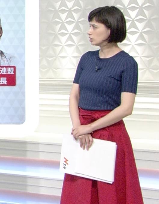 ホラン千秋 ピチピチTシャツで巨乳が強調されるキャプ・エロ画像14