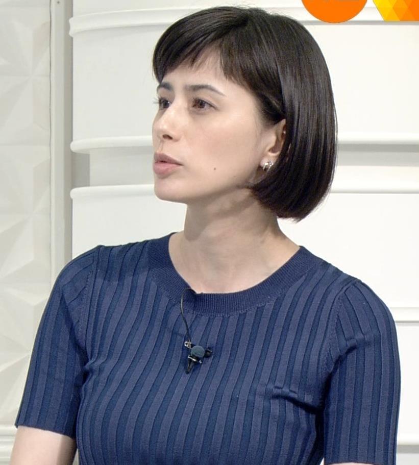 ホラン千秋 ピチピチTシャツで巨乳が強調されるキャプ・エロ画像15