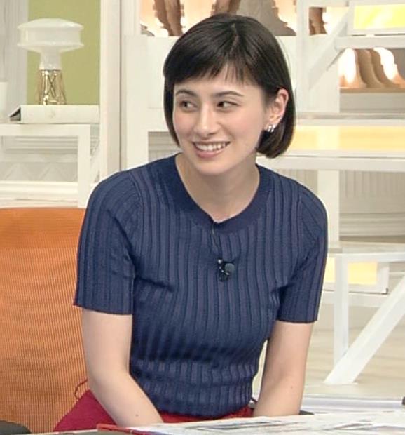 ホラン千秋 ピチピチTシャツで巨乳が強調されるキャプ・エロ画像5