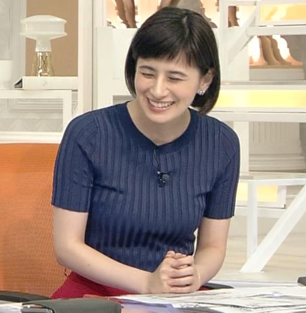 ホラン千秋 ピチピチTシャツで巨乳が強調されるキャプ・エロ画像7