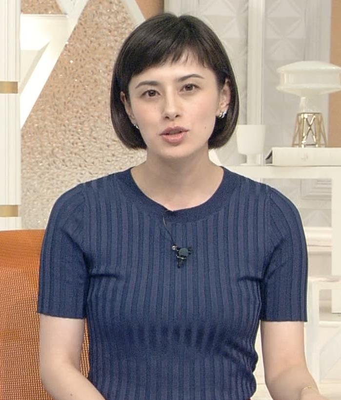 ホラン千秋 ピチピチTシャツで巨乳が強調されるキャプ・エロ画像8
